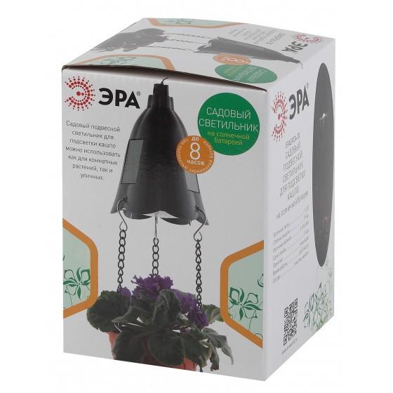 ERASF024-30 ЭРА Садовый подвесной светильник для подсветки кашпо на солнечной батарее 3