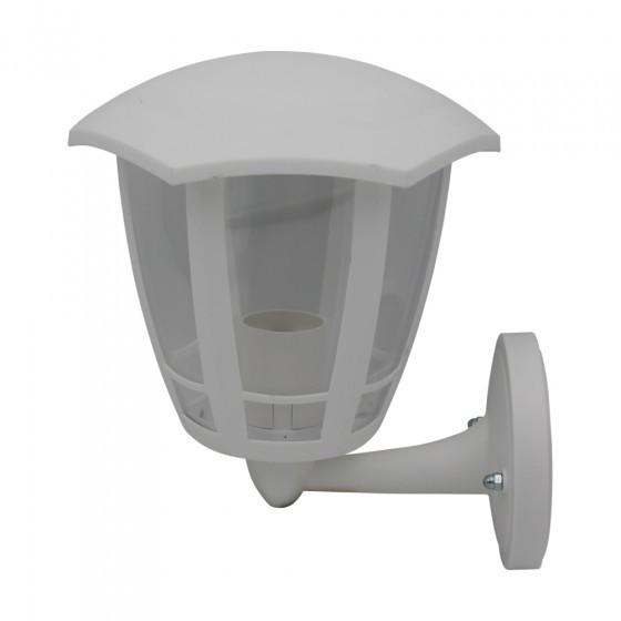 ЭРА Светильник садово-парковый 6гран белый настенный вверх E27 IP44(У1) НБУ 07-40-003 «Дели 1» 1