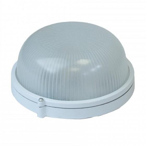 НБП 03-60-001 ЭРА Светильник Акватермо алюминий/стекло IP54 E27 max 60Вт D176 КРУГ БЕЛ 1