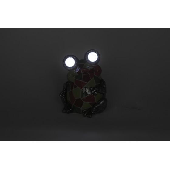 SL-RSN14-WITR ЭРА Садовый светильник на солнечной батарее, полистоун, цветной, 14 см 4