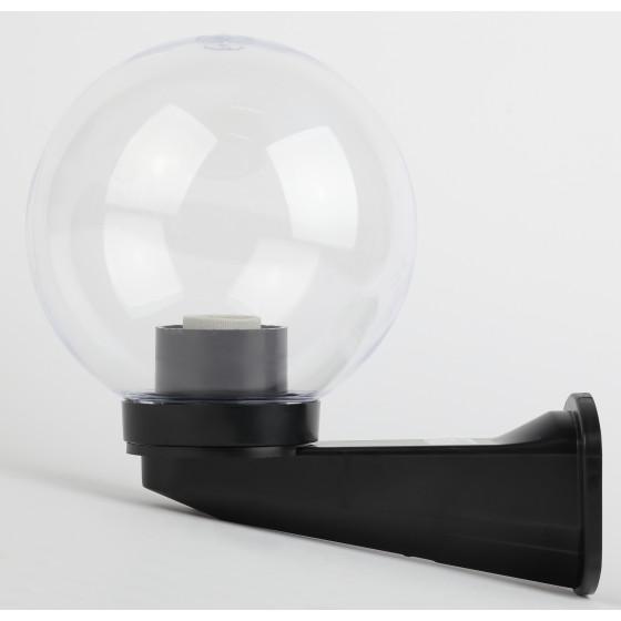НБУ 01-60-202 ЭРА Светильник садово-парковый шар прозрачный призма с настенным крепежом D200mm Е27 ( 2