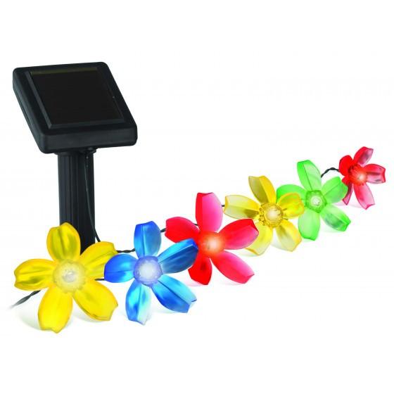 SL-PL400-FLW10 ЭРА Садовый светильник на солнечной батарее, пластик, цветной, черный, длина 400 см ( 1
