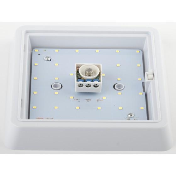 SPB-4-15-4K-MWS ЭРА Cветильник светодиодный IP20 15Вт 1200Лм 4000К 190мм КВДРТ датчик движения 2