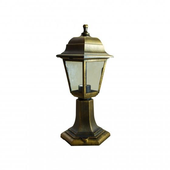 НТУ 04-60-001 бронза ЭРА Светильник садово-парковый Оскар напольный четырехгранный под бронзу Е27 1