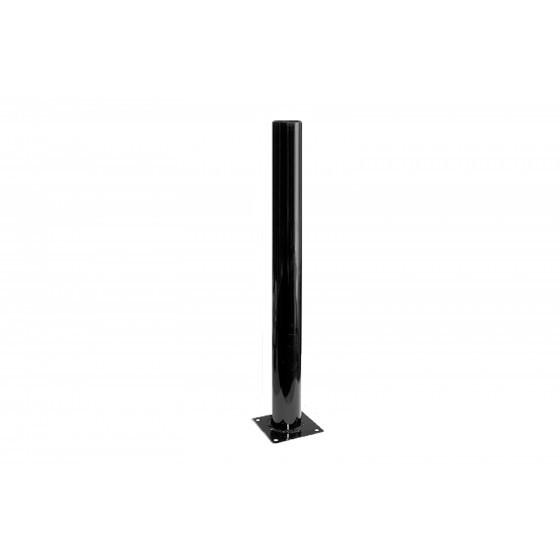 Опора металлическая 1,2 м. ЭРА Опора стальная черная эмаль для светильников НТУ Н1200mm 1