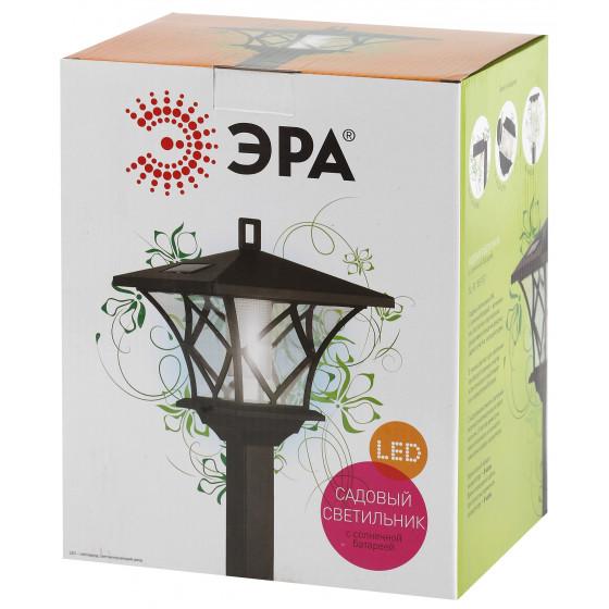 SL-PL155-PST ЭРА Садовый светильник на солнечной батарее, пластик, черный, 155 см 2