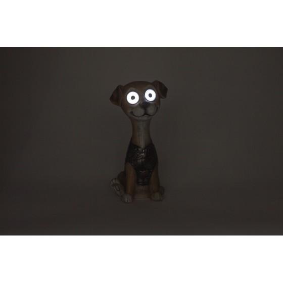 SL-RSN24-DOG-M ЭРА Садовый светильник на солнечной батарее, полистоун, цветной, 24 см 2