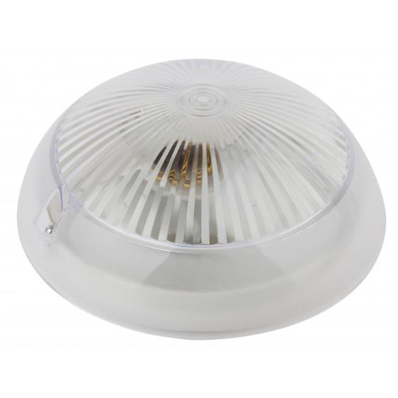 НБП 06-60-001 ЭРА Светильник Сириус поликарбонат IP54 E27 max 60Вт D220 КРУГ ПРИЗМА 1