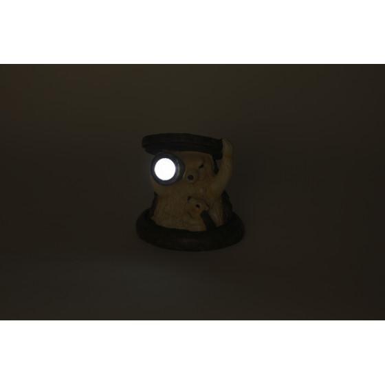 SL-RSN11-HDG2 ЭРА Садовый светильник на солнечной батарее, полистоун, цветной, 11 см 2