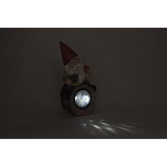 SL-RSN24-GN-4M ЭРА Садовый светильник на солнечной батарее, полистоун, цветной, 24,3 см 4