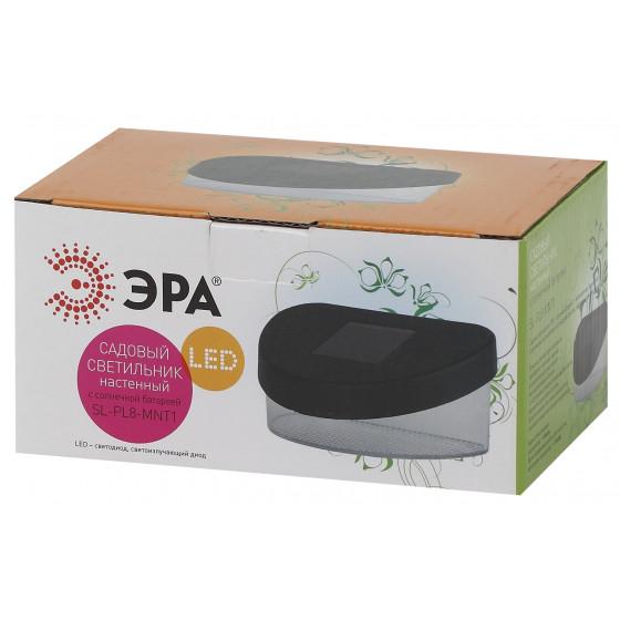 SL-PL8-MNT1 ЭРА Садовый светильник на солнечной батарее, пластик, черный, 5,5 см 3
