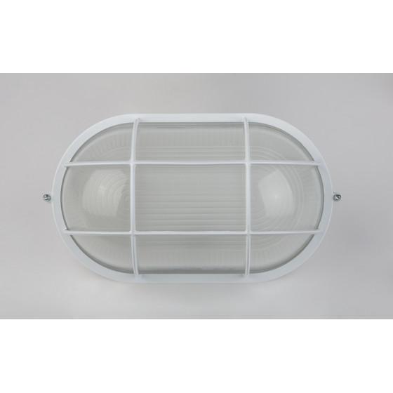НБП 04-100-002 в инд. упаковке ЭРА Светильник Акватермо ал/стекло решетка IP54 E27 max 60Вт 280х160 2