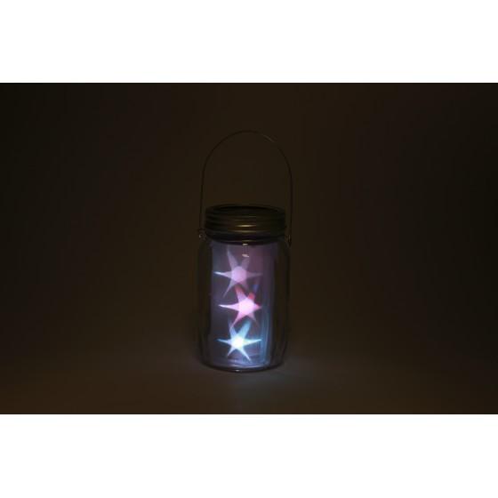 SL-GL14-JAR-2 ЭРА Садовый светильник на солнечной батарее, стекло, металл, прозрачный, 13,5 см 4