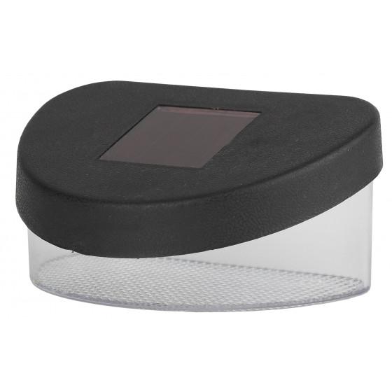 SL-PL8-MNT1 ЭРА Садовый светильник на солнечной батарее, пластик, черный, 5,5 см 1