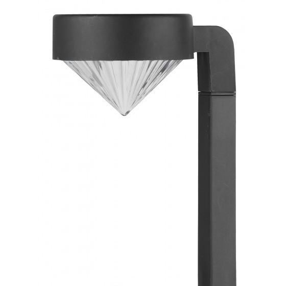 SL-PL42-DMD ЭРА Садовый светильник на солнечной батарее, пластик, черный, 42 см 1