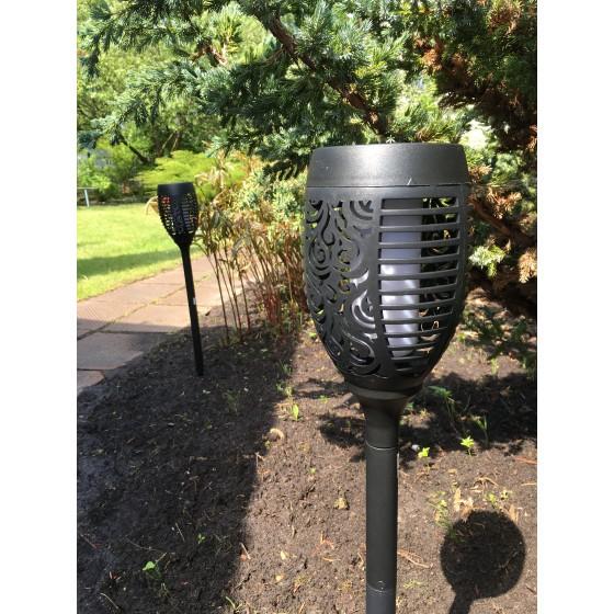 ERASF012-35 ЭРА Садовый светильник Факел на солнечной батарее, 72 см 6