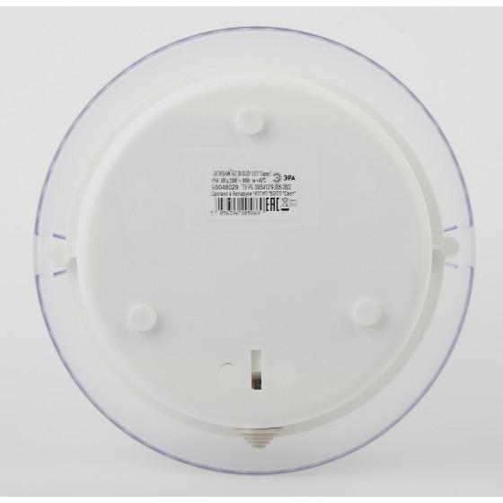 НБП 06-60-001 ЭРА Светильник Сириус поликарбонат IP54 E27 max 60Вт D220 КРУГ ПРИЗМА 3