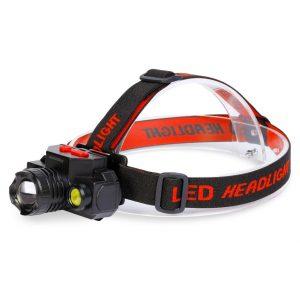 Аккумуляторный налобный фонарь 3Вт +2Вт (SBF-HL036)