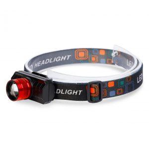 Аккумуляторный налобный фонарь 3Вт (SBF-HL037)