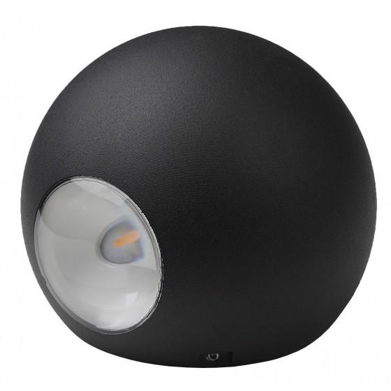 WL11 BK Подсветка ЭРА Декоративная подсветка светодиодная ЭРА 2*1Вт IP 54 черный 3