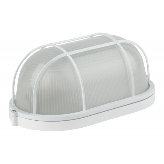 НБП 04-100-002 в инд. упаковке ЭРА Светильник Акватермо ал/стекло решетка IP54 E27 max 60Вт 280х160 1