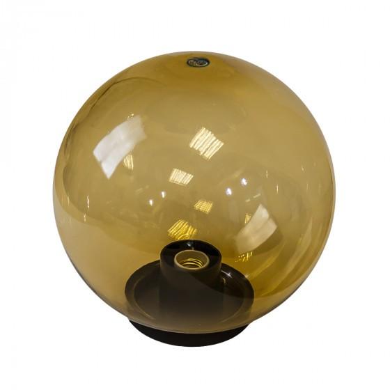 НТУ 01-60-203 ЭРА Светильник садово-парковый шар золотистый D200mm Е27 1
