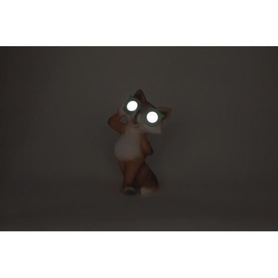 SL-RSN20-FOX-M ЭРА Садовый светильник на солнечной батарее, полистоун, цветной, 19,5 см 2