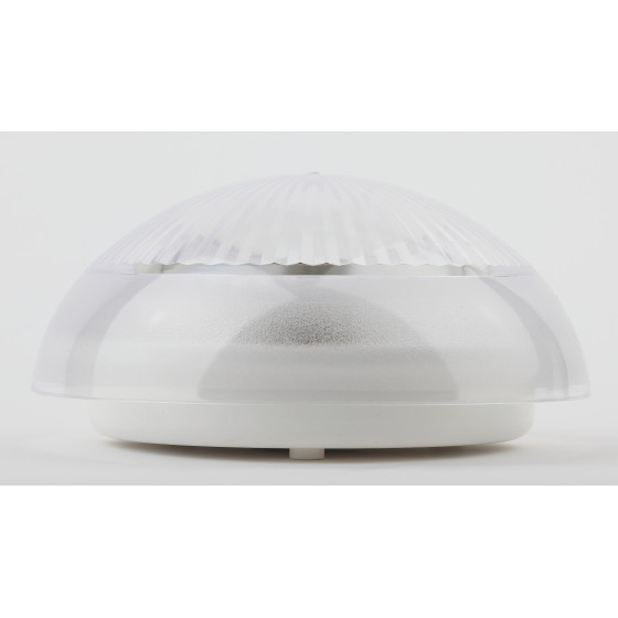 НБП 06-60-001 ЭРА Светильник Сириус поликарбонат IP54 E27 max 60Вт D220 КРУГ ПРИЗМА 2