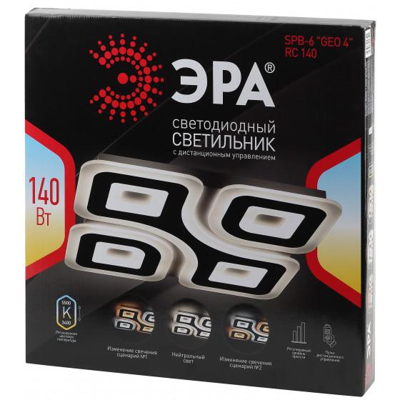 """SPB-6 """"GEO 4"""" RC 140 ЭРА Светодиод. св-к 140Вт 3400-5500К с пультом ДУ 6"""