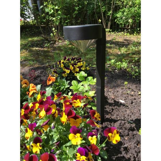 SL-PL42-DMD ЭРА Садовый светильник на солнечной батарее, пластик, черный, 42 см 3