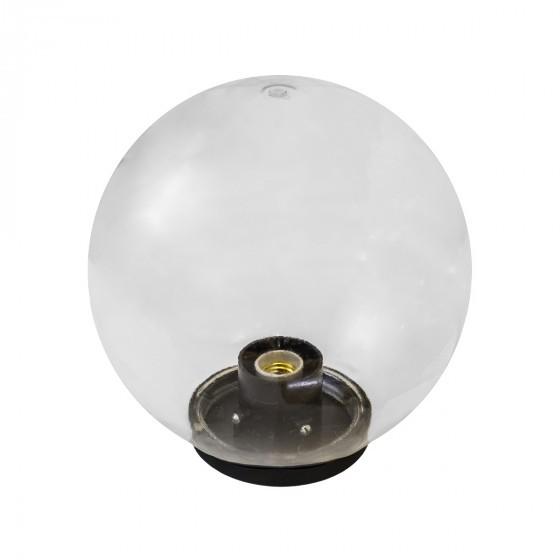 НТУ 01-100-302 ЭРА Светильник садово-парковый шар прозрачный D300mm Е27 1