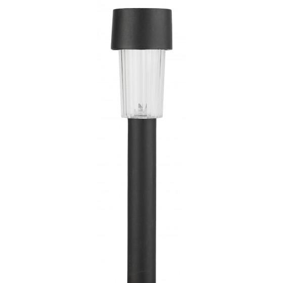 SL-PL30 ЭРА Садовый светильник на солнечной батарее, пластик, черный, 30 см 1