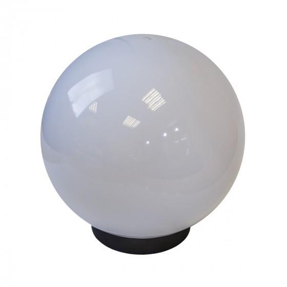 НТУ 01-100-301 ЭРА Светильник садово-парковый шар белый D300mm Е27 1