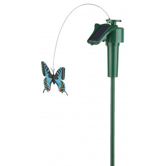 """SL-PL42-BTF ЭРА Садовый светильник на солнечной батарее """"Порхающая бабочка"""", пластик, цветной, 42 см 1"""