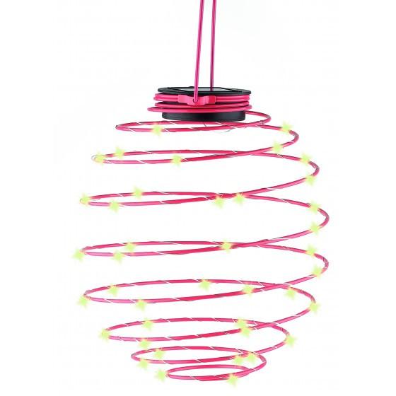 ERASF012-29 ЭРА Садовый подвесной светильник Спираль на солнечной батарее, 22 см 1
