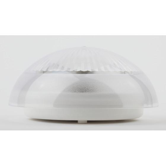 НБП 06-60-001 ЭРА Светильник Сириус поликарбонат IP54 E27 max 60Вт D220 КРУГ ПРИЗМА 5