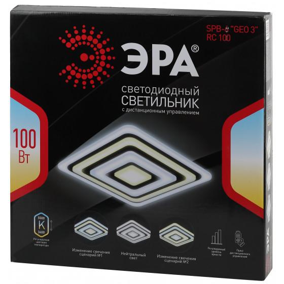 """SPB-6 """"GEO 3"""" RC100 ЭРА Светодиод. св-к 100Вт 3400-5500К с пультом ДУ 6"""