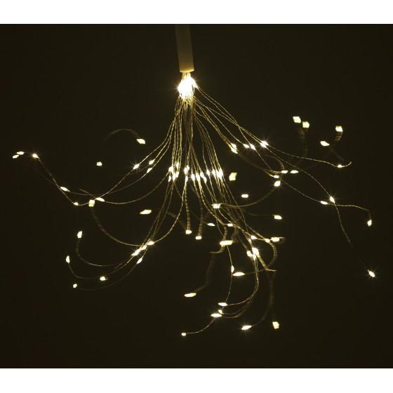 ERAUF024-02 ЭРА Садовый подвесной светильник Фейерверк на солнечной батарее 2