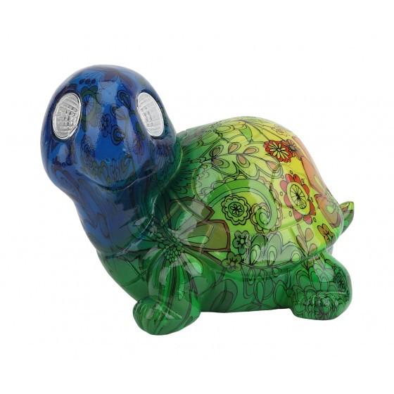 ERAFYS01-06 ЭРА Садовый светильник Черепаха на солнечной батарее, полистоун, 13 см 1