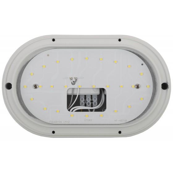 SPB-7-12-O ЭРА Cветильник светодиодный антивандальный IP65 12Вт 1140Лм 5000К 220х135 ОВАЛ 4