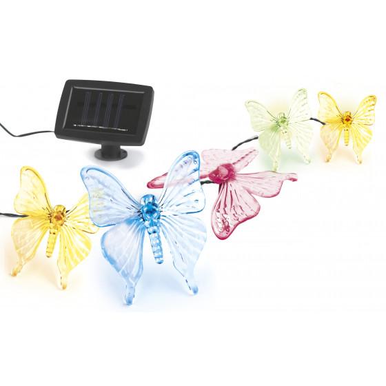 SL-PL600-BTF2 ЭРА Садовый светильник на солнечной батарее, пластик, прозрачный, длина гирлянды - 600 1