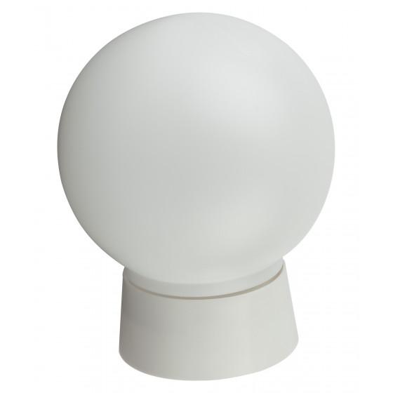 НБП 01-60-004 ЭРА Светильник Гранат полиэтилен IP20 E27 max 60Вт D150 ШАР БЕЛ 1