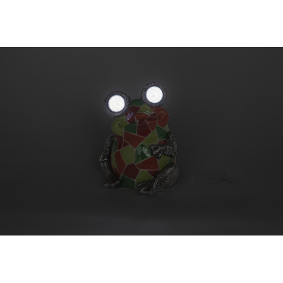 SL-RSN14-WITR ЭРА Садовый светильник на солнечной батарее, полистоун, цветной, 14 см 3