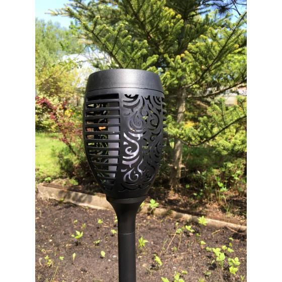 ERASF012-35 ЭРА Садовый светильник Факел на солнечной батарее, 72 см 4