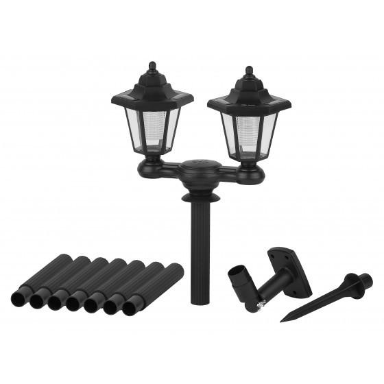 ERASV01-01 ЭРА ЭРА Садовый светильник на солнечной батарее, пластик, черный, 150 см 3