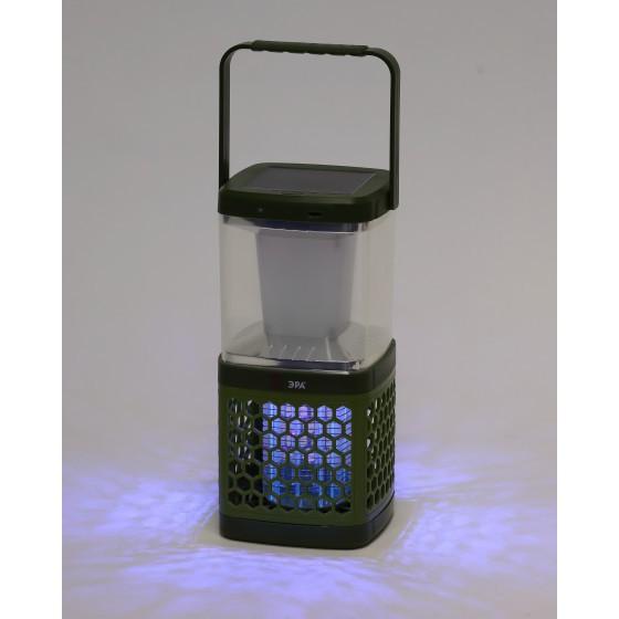 ERAMF-08 ЭРА Противомоскитный кемпинговый фонарь аккум. с солн. бат. 3