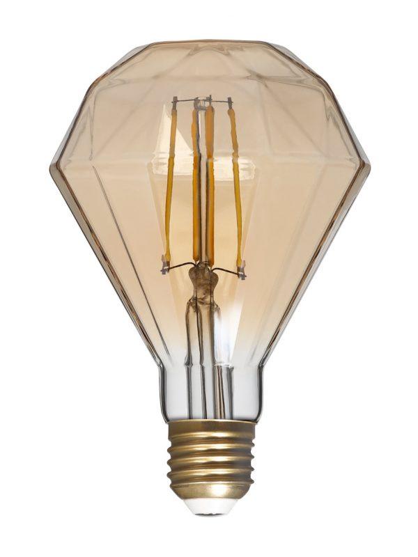 Светодиодная (LED) Лампа ART Smartbuy G95 Dimond 7W/3000/E27 2