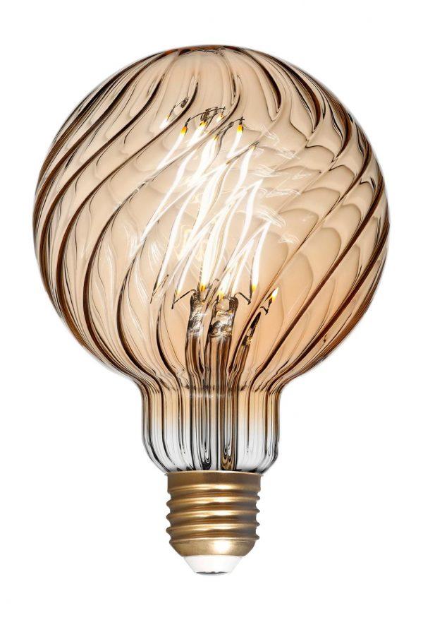 Светодиодная (LED) Лампа ART Smartbuy G95 Gold 7W/3000/E27 1