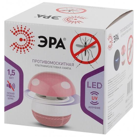 ERAMF-03 ЭРА противомоскитная ультрафиолетовая лампа (розовый) 3