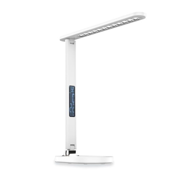 Настольная светодиодная лампа PLATINET 13W белая [PDL081DW] 3